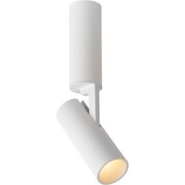 Spot led design en métal blanc Gigi