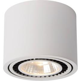 Spot design blanc orientable Ø 17 cm Vador
