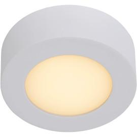 Plafonnier moderne blanc led Ø11 cm Lucette