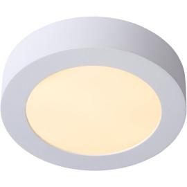 Plafonnier moderne blanc led Ø18 cm Lucette
