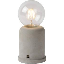 Lampe de table moderne en béton gris Penny