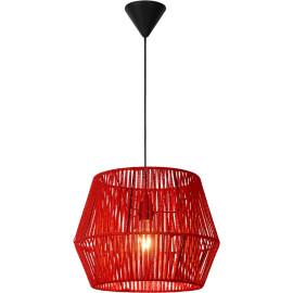 Suspension design métal rouge Loft