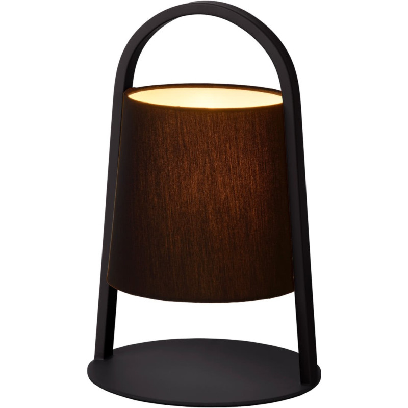 lampe poser moderne en m tal noir omalay. Black Bedroom Furniture Sets. Home Design Ideas