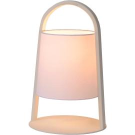 Lampe à poser moderne en métal blanc Omalay
