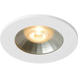 Spot led design blanc et gris Garcia