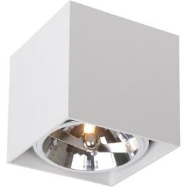 Spot design cube blanc Paoline