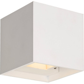 Applique led moderne carrée blanc Joel
