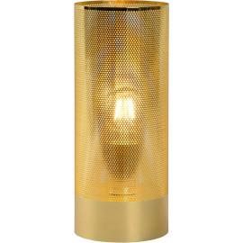 Lampe de table moderne en métal doré Julietta
