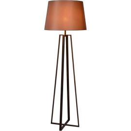 Lampadaire design en acier effet rouille Apolina