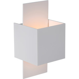 Applique design cube blanc Arthur