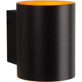 Applique ronde design noire Eliot