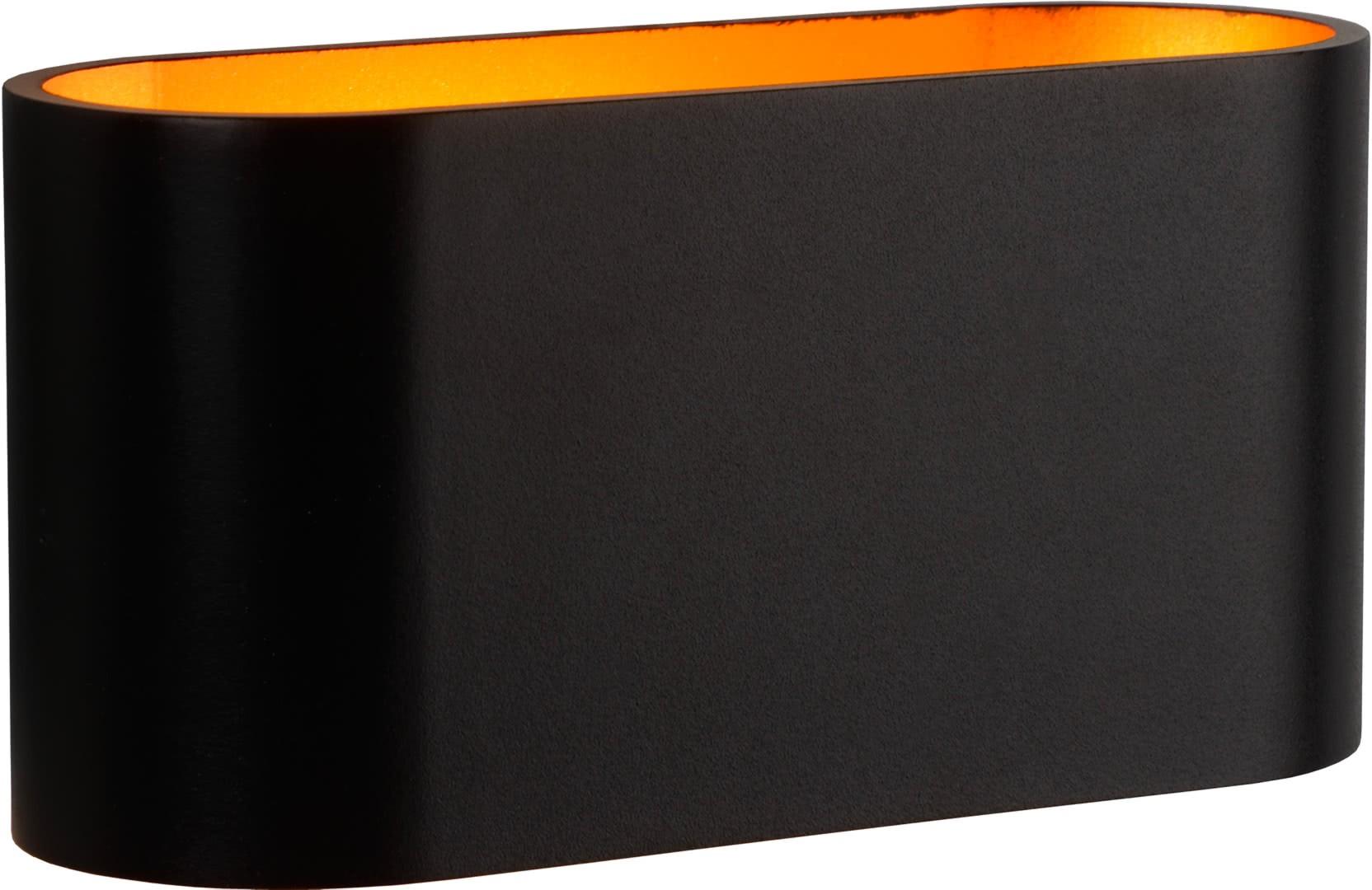 Applique ovale design noire eliot