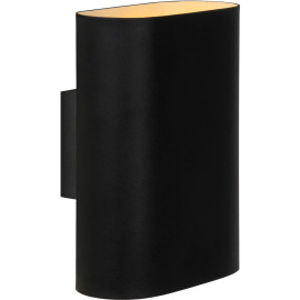 Applique design ovale en métal noir Inozy