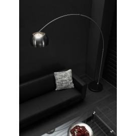 Lampadaire arc design gris mat Moustik