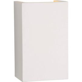 Applique classique blanche rectangulaire Sloan