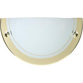 Applique classique demi-cercle verre beige Adenora