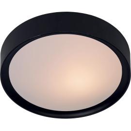 Plafionner moderne plastique noir Ø36 cm Belian