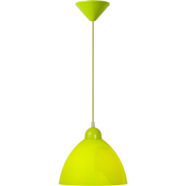 Suspension contemporaine plastique vert pomme Candy