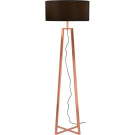 Lampadaire design en acier effet cuivre Aubade
