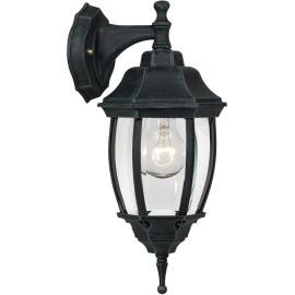 Applique vintage lanterne noire Karma