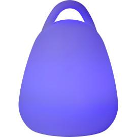 Lampe à poser moderne en plastique LED Dalia