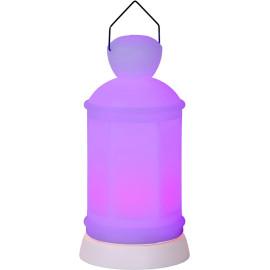 Lampe à poser moderne en plastique LED Dalie