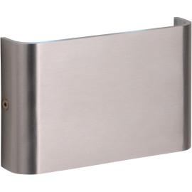Applique moderne d'extérieur en aluminium chromé LED Gabia