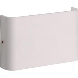 Applique moderne d'extérieur en aluminium blanc LED Gabia