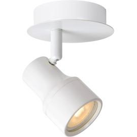 Spot moderne en métal blanc LED Ø10 cm Steel