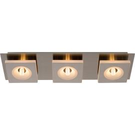 Spot moderne en métal chromé 3 LED Hazel