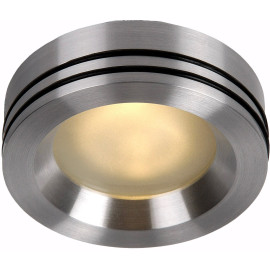 Spot moderne encastrable en aluminium chromé Ø8,8 cm Gaïl
