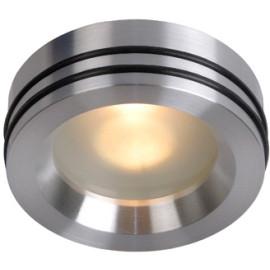 Spot moderne encastrable en aluminium chromé Ø7,2 cm Gaïl