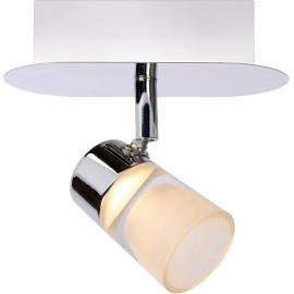 Spot moderne en métal chromé LED Harry