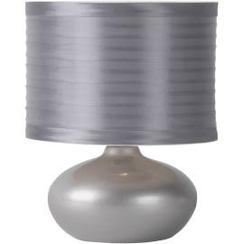 Lampe de chevet classique en céramique argenté Comix