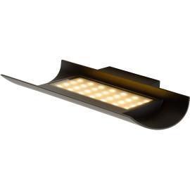 Applique moderne d'extérieur en aluminium noir LED Jany
