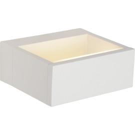 Applique moderne extérieure en aluminium blanc LED Kamen