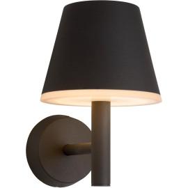 Applique moderne d'extérieur aluminium noir LED Kay