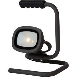 Projecteur portable extérieur en aluminium noir LED Keoni