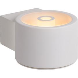 Applique moderne en métal blanc LED Naeva