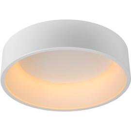 Plafonnier moderne en métal blanc LED Ø45 cm Oli