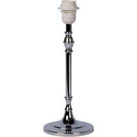 Lampe à poser moderne en métal chromé dépoli H35 cm Odoric