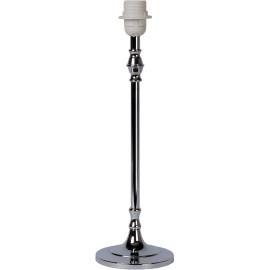 Lampe à poser moderne en métal chromé dépoli H45 cm Odoric