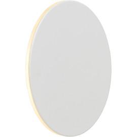 Applique moderne aluminium blanc LED Ø15 cm Oïhana