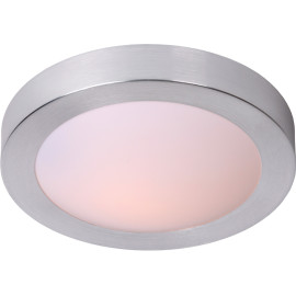 Plafonnier moderne aluminium pour salle de bain Ø27 Sabin