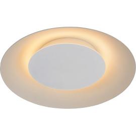 Plafonnier moderne en métal blanc LED Ø34,5 cm Sanz