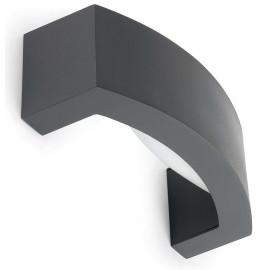 Applique design aluminium gris foncé Taleb