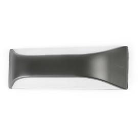 Applique moderne extérieure en polycarbonate gris Taly