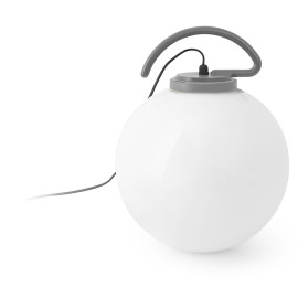 Boule lumineuse avec accroche grise Ø40 cm Tara