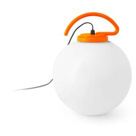 Boule lumineuse avec accroche orange Ø40 cm Tara