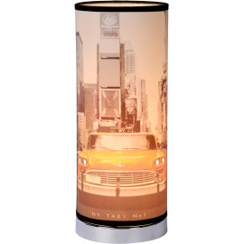 Lampe de chevet moderne en métal New York